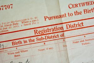 Reasons You Might Need CFA to Track Down a Birth Certificate