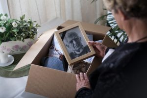 What happens when a loved one passes away?