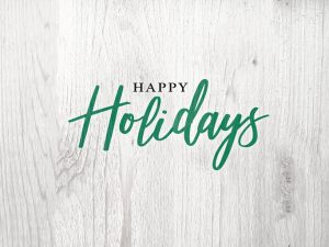 Happy Holidays from the Certified Field Agent Family to Yours!